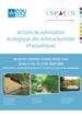 Action de valorisation écologique des milieux humides et aquatiques
