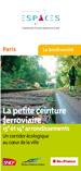 plaquette Petite ceinture 15e et 14e arrondissement