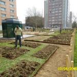 Jardin Les Clayes parcelles nues