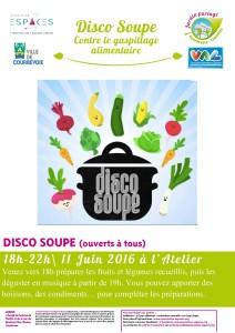 Affiche disco soupe Fauvelles