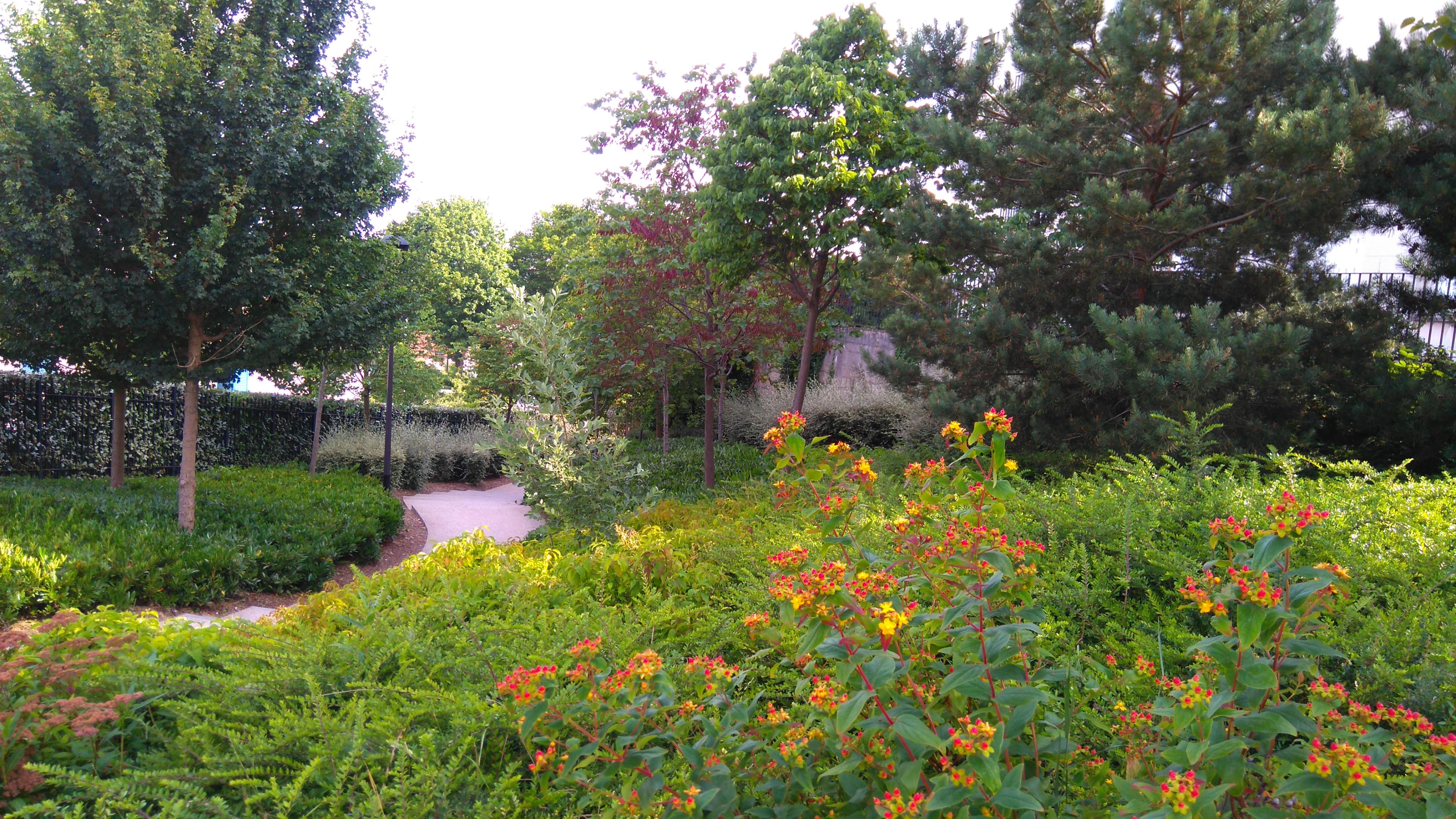 Portes ouvertes au chantier espaces verts d antony for Chantier espace vert