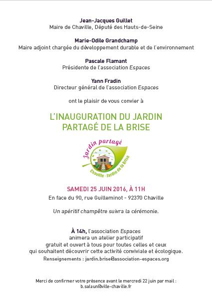 Le Jardin Partage De La Brise Bientot Inaugure A Chaville