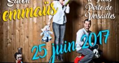 Salon Emmaüs le 25 juin 2017, l'année des vacances de l'Abbé Pierre