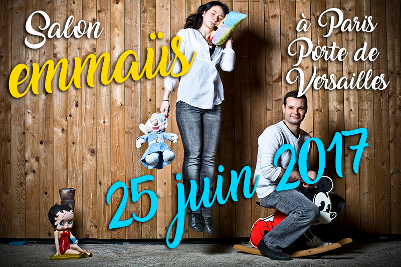 Salon emma s le 25 juin 2017 l ann e des vacances de l for Salon emmaus paris 2017