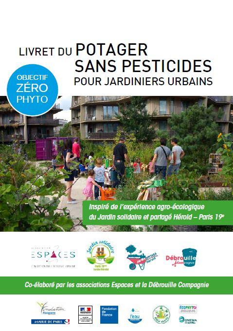 Livret du potager sans pesticides pour jardiniers urbains