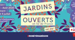 Jardins d'Ile-de-France, ouvrez vos portes !