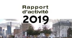 Le rapport d'activité 2019 est en ligne